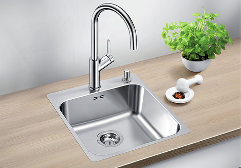 Blanco Supra 400 -IF/A ALA Sink and Tap Pack  Inset With Tap Ledge 455314
