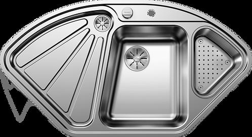 Blanco Delta IF Stainless Steel Corner Sink 450824