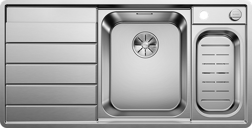 Blanco Axis llI 6S IF Stainless Steel 1.5 Bowl Sink