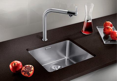 Blanco Andano 450-U - Undermount Sink & Tap Pack 454141