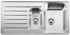 Blanco Lantos 6S IF 1.5 Bowl Stainless Steel Inset SInk 453568