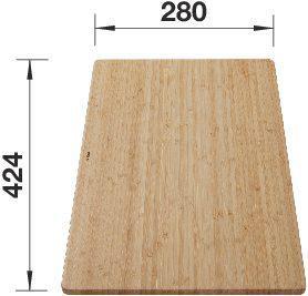Blanco Cutting board bamboo 424x280 mm 239449