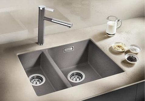 Blanco Subline 340/160-U Undermount Sink & Tap Pack  RH Bowl