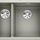 Thumbnail: Blanco Subline 340/160-U Undermount 1.5 Bowl Sink Choice of Colour