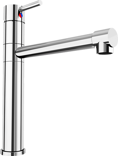 Blanco City Monobloc Top Single Lever Tap - Chrome 451065