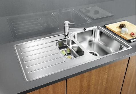 Blanco Lantos 6S IF ALA Sink & Tap Pack 454089