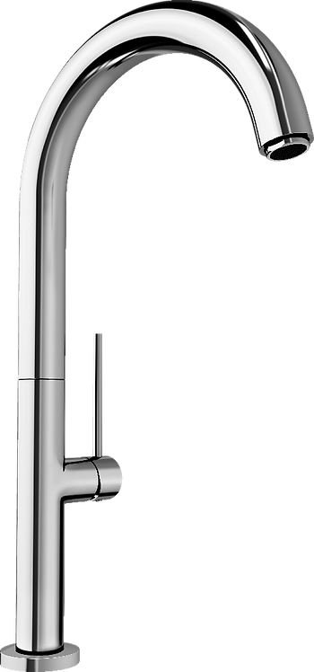 Blanco Trim Slim Style Tall Monobloc Mixer Tap Chrome 450978