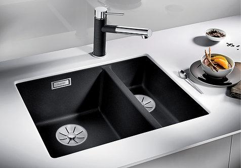 Blanco Subline 340/160-U Undermount Sink & Tap Pack LH Bowl