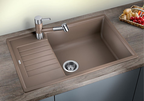 Blanco Zia XL 6S Compact ALA Sink & Tap Pack  Choice of Colour
