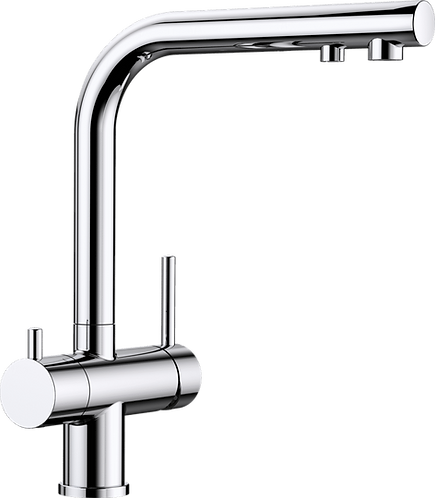 Blanco Fontas II Twin Lever Mixer Tap With Filter Function 525227