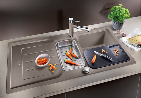 Blanco Classic Neo 6s Silgranite ALA Sink & Tap Pack Choice of Colour