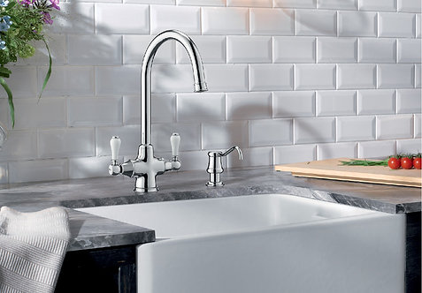Blanco Vicus Twin Lever Tap Upgrade for Blanco ALA Sink & Tap Pack