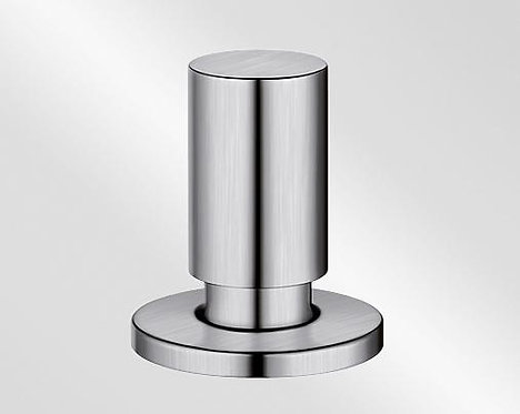Pull pop-up control round stainless steel brushed & Satin finish 222118/5