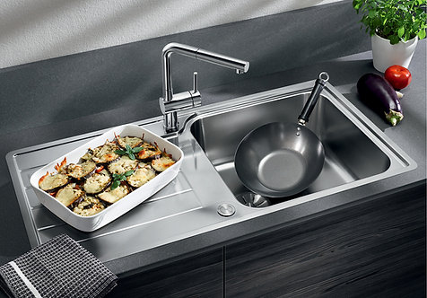 Blanco Classimo XL 6 S IF  ALA Sink & Tap Pack 456181