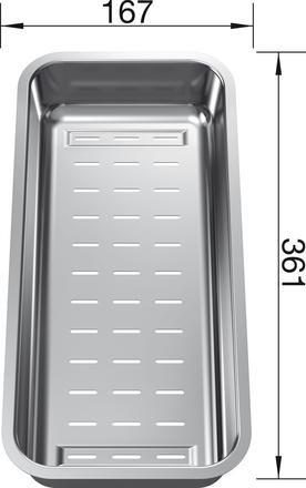 Blanco Stainless Steel Colander 223077