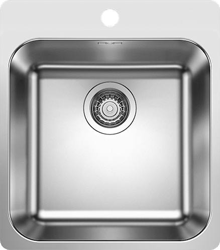 Blanco Supra 400 -IF/A Inset Stainless Steel Sink With Tap Ledge  455062