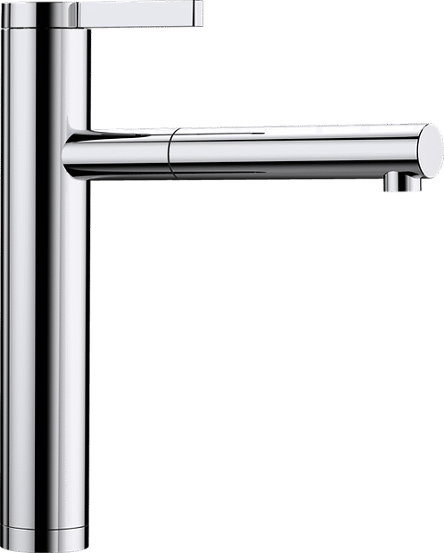 Blanco Linee-S Top Lever Tap with Pull Out Nozzle Chrome 517591