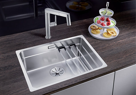 Blanco Etagon 500-IF ALA Sink and Tap Pack 454446