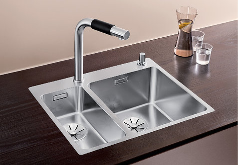 Blanco Andano 340/180-IF/A ALA Sink and Tap Pack Right Hand Large Bowl 456321