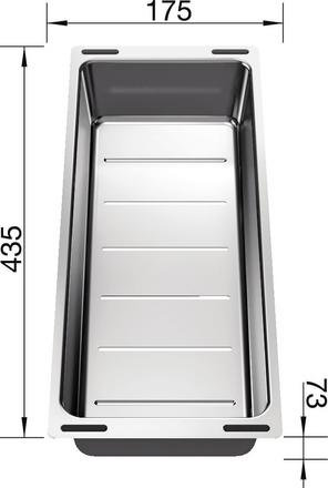 Blanco Stainless Steel Colander 227689