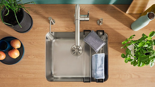 Blanco Solis 400U Stainless Steel Undermount Sink & Tap Pack 456322
