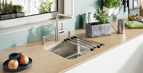 Blanco Solis 500 U Stainless Steel Undermount Sink & Tap Pack 456349