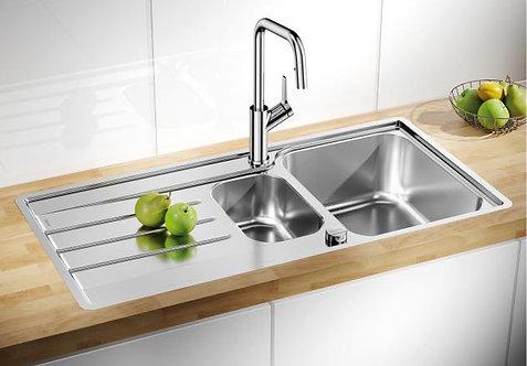 Blanco Lemis 6S IF ALA Sink & Tap Pack 456178