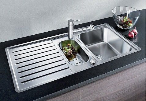 Blanco Classic Pro 6S IF ALA Sink & Tap Pack 453216