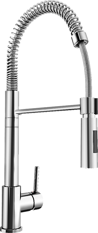 Blanco Ellipse Tap with Spray Rinse Feature Chrome 453511