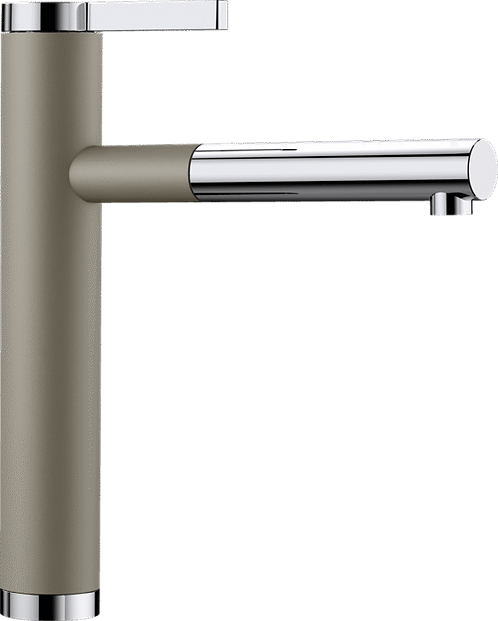 Blanco Linee-S Top Lever Tap with Pull Out Nozzle Silgranite Colours