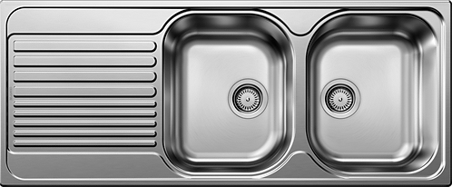 Blanco Tipo 8S Stainless Steel Double Bowl Sink 450741