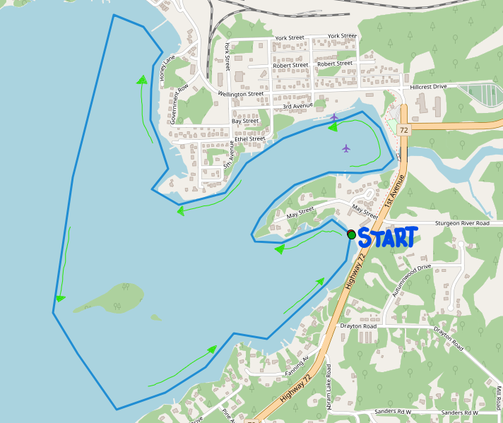 Blueberry Flotilla Route Map.png