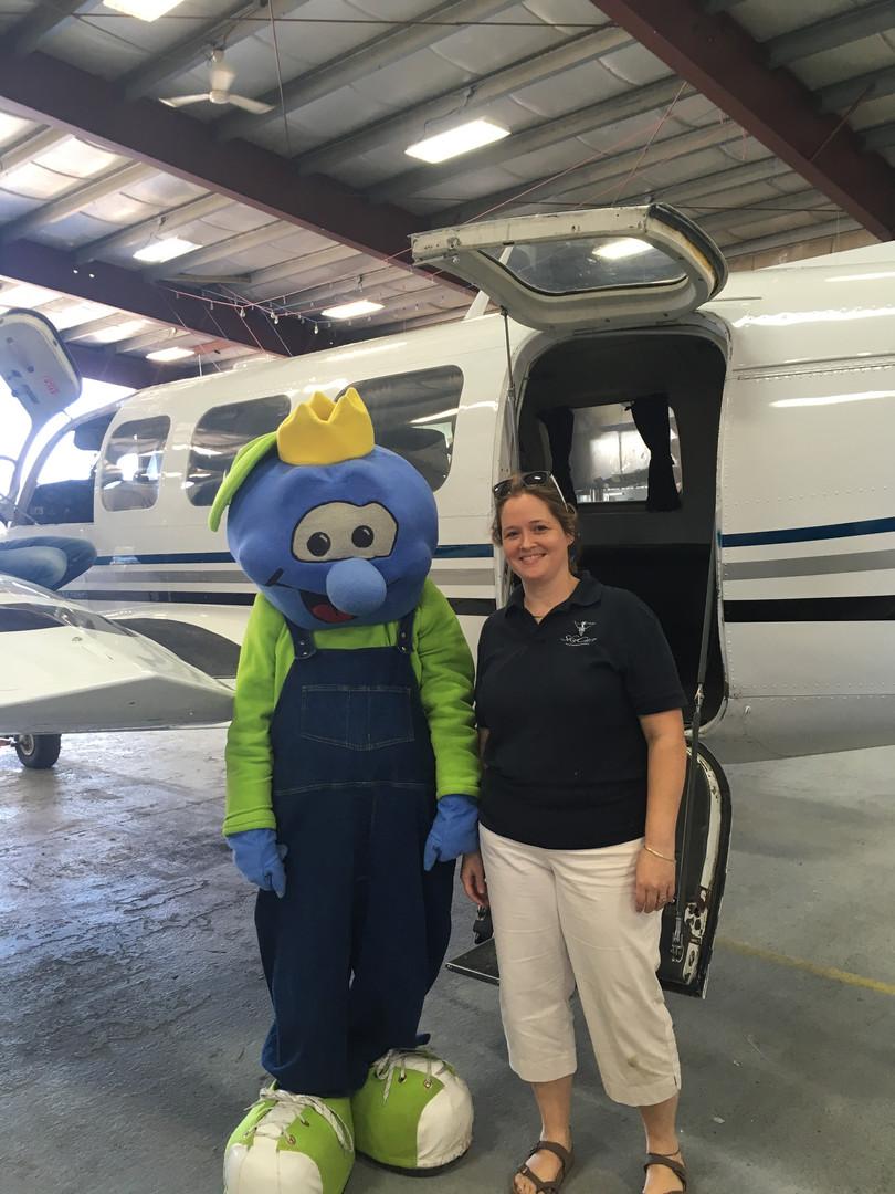Skycare Magic Show and Plane Tour