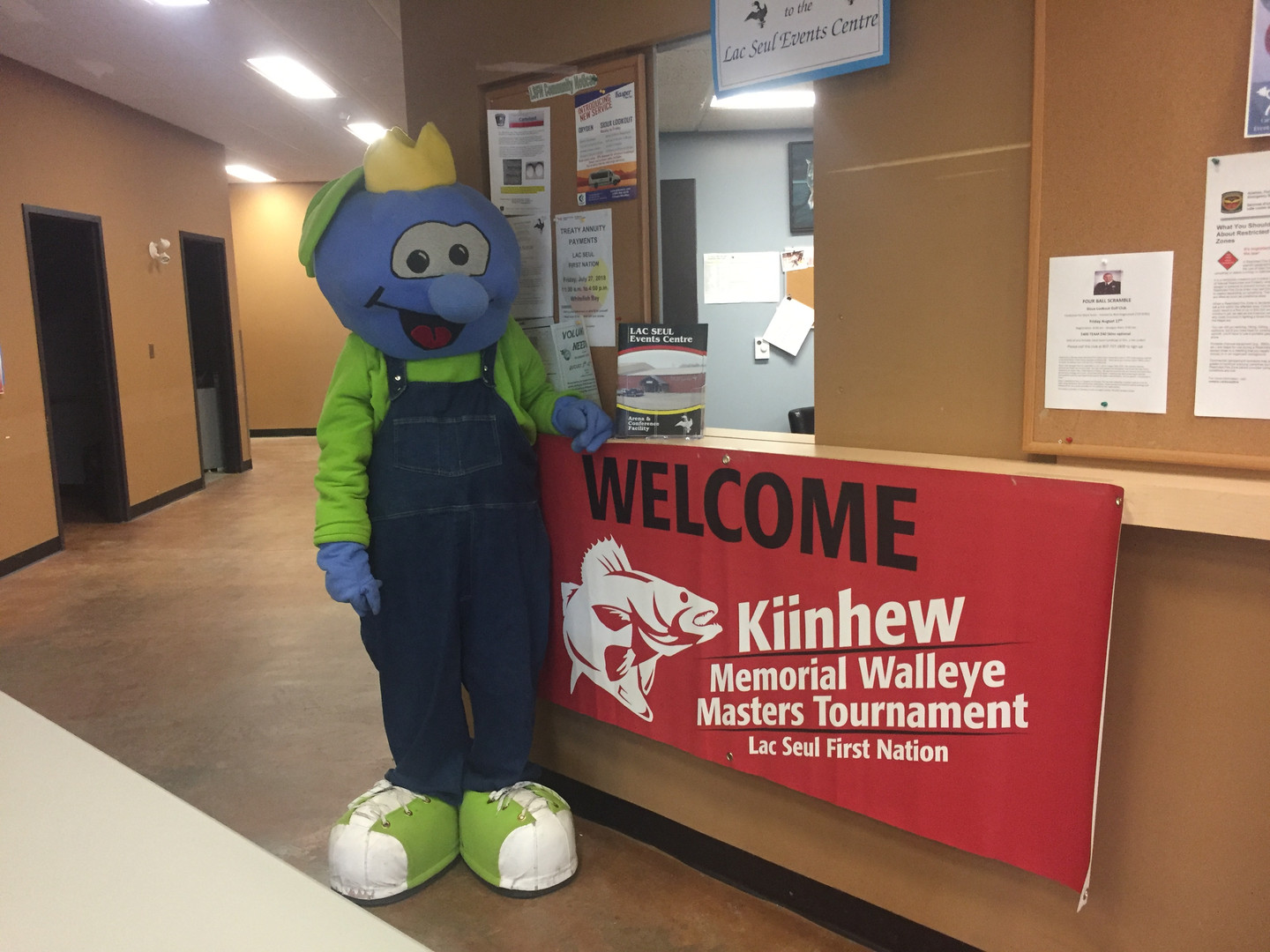 Kiinhew Memorial Walleye Masters Tournament in Lac Seul