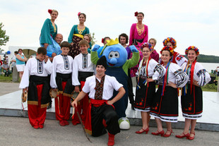 Blueberry Festival - Bert and Ukranian D