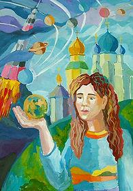 Силина Софья 13 лет Архитектор будущего