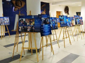 """Дом космонавтов представил выставку """"Твоя душа отзовётся в детях"""" посвящённую памяти А.А. Леонова"""
