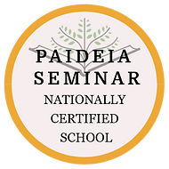 Paideia Seminar Certified Digital Badge.