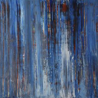Verticals in Blue