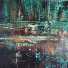 Teal Reflections