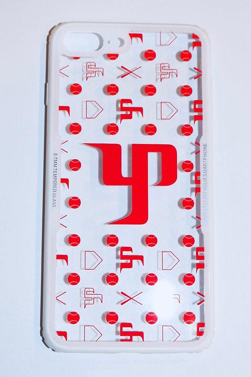 Red Logo w/ white Border