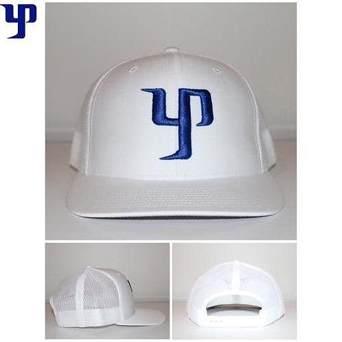 YP Snapback- White & Blue