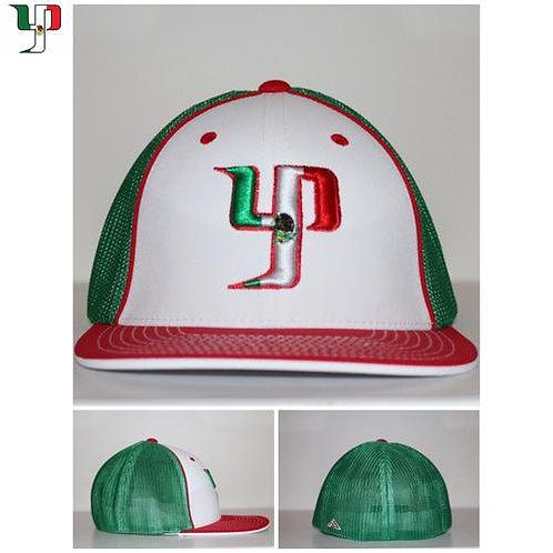 YP México Flexfit - Green, White, Red
