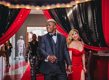 Yasiel Puig Hosts Celebrity Casino Royale in Cincinnati