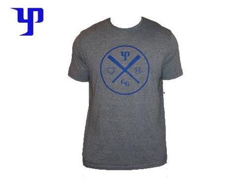 YP T-Shirt - Gray & Blue