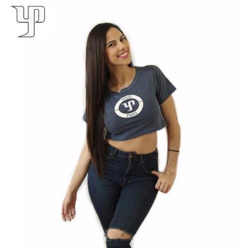 YP66 Blue Crop Top