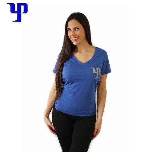 YP Women V-Neck - Blue