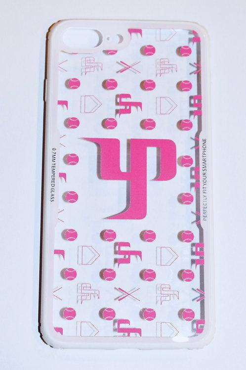 Pink Logo w/white Border