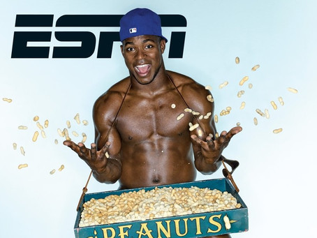 Yasiel Puig Featured in ESPN The Magazine's 10th Annual Body Issue