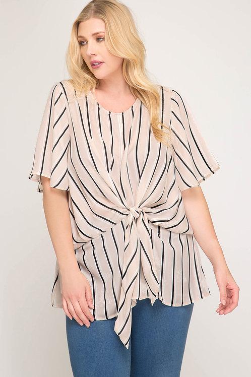 Blusa rayas Mod 379980